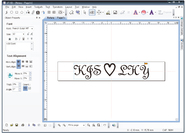 Gravure de symboles Magic-5P Vision-Technologies.fr