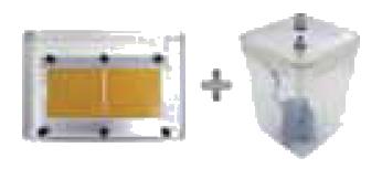 table découpe et kit refroissement CP-122 et CP-302 vision technologies