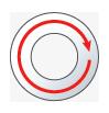 Circular text engraving magicart vision-technologies